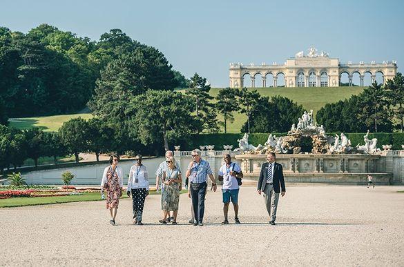 The grounds of Schönbrunn Palace, Vienna