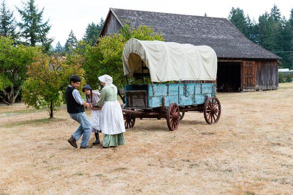 Philip Foster Farm on the Oregon Trail
