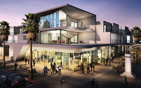 Andaz Palm Springs architecture rendering