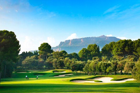 The 17th hole of El Prat's Open Course