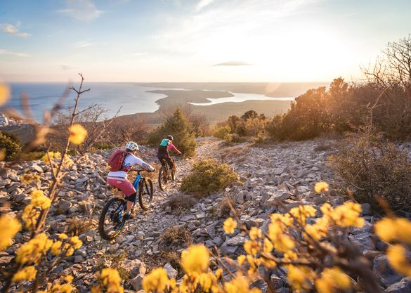 Take on Croatia's Terra Magica mountain bike trails with Saddle Skedaddle _Copyright Moritz Ablinger