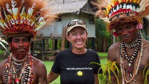 Fiona Harper travel writer & David Hartman photographer