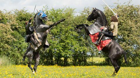 medieval jousting tournament