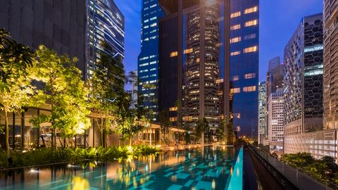 Oakwood Premier OUE Singapore - Infinity Pool