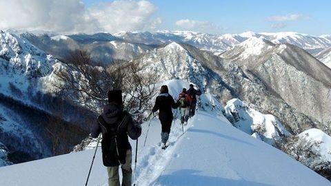 Abruzzo Winter Walking
