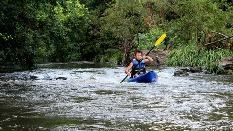 Introducing Mother Nature's Triathlon: Adventure guide Ian Harling of Ride on Mary... Kayak and Bike Bush Adventures