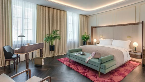 Raffles Europejski Warsaw guest room