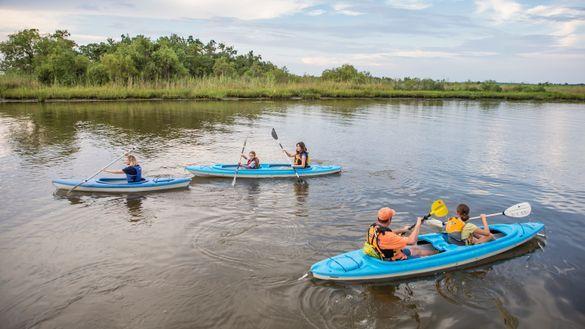 Alabama Scenic River Trail in Mobile Bay by Chris Granger