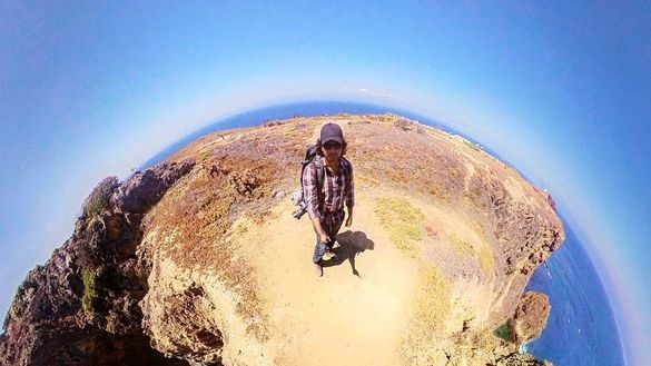 360-Degree View from Inspiration Point, Anacapa Island, Channel Islands National Park off the coast of Oxnard, California