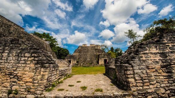 Mayan Temple Ruins, Belize