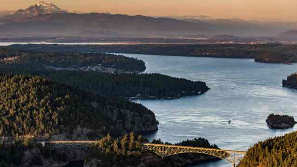 Deception Pass Suspension Bridge – 85 years old this year