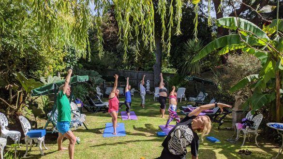 Yoga at The Grange, Isle of Wight