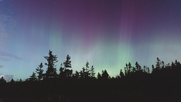 Maine's night sky is among the most spectacular.